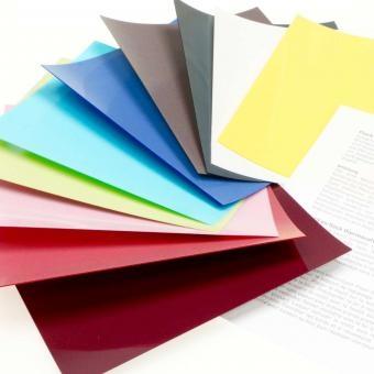 Flockfolie 15 Farben Starter-Set für kl. Plotter