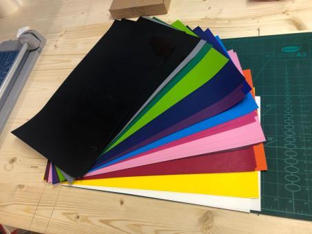 Flexfolie 14 Farben Starter-Set für kl. Plotter