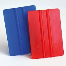 Folien - Rakel rot / blau Kunststoff