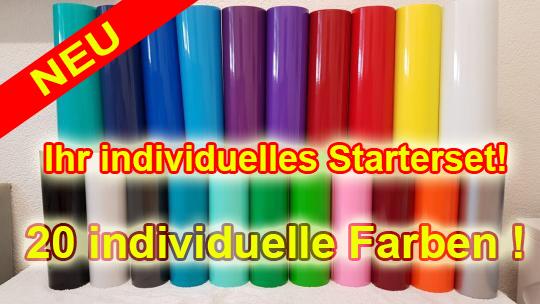 20 individuelle Farben
